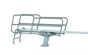 1 MTR, REAR LADDER, FLANGED PED, TOPFLYTE