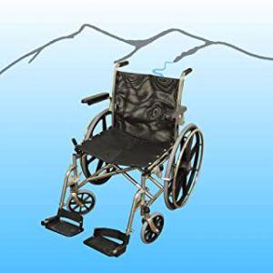 "20"" SS Folding Aquatic Wheelchair"