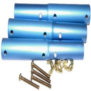 Pentair 147 Pool Pole Adapter with Brass Bolts and Nuts