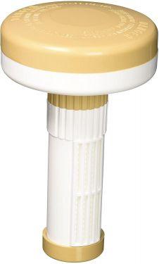Pentair 335 Chlorine/Bromine Floating Dispenser, Beige and White