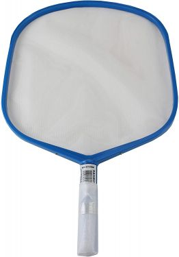 Pentair 119 Blue Molded Frame Hand Skimmer with Reinforced Aluminum Handle