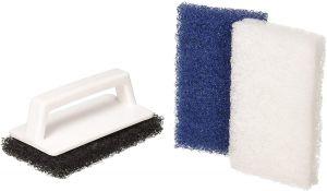 Pentair 650 Multi-Purpose Scrub Brush with 3 Interchangeable Pad