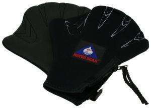 Neoprene Resistance Swim Gloves - Large