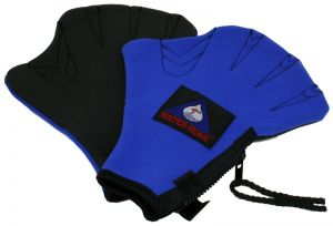 Neoprene Resistance Swim Gloves - Medium