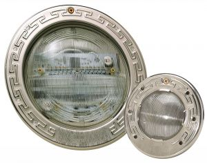 Intellibrite White LED Pool Light, 12 Volt with 100 ft. Cord, 500 Watt Equiv.