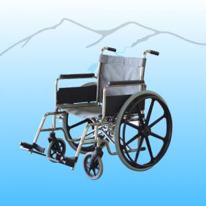"""POOL ACCESS WHEELCHAIR, 20"""" WIDE, FOLDING, SS"""
